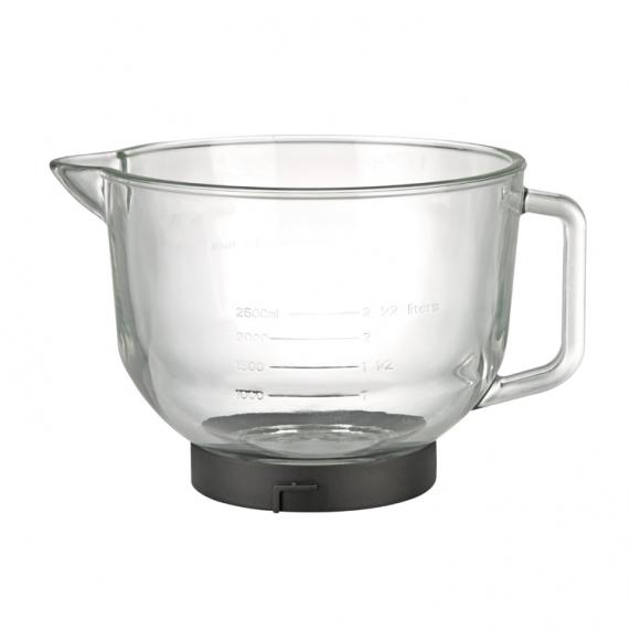 Uit te breiden met een chique glazen mengkom van 5.0L: Glass Bowl (art.nr.: 22.6291.00.00)