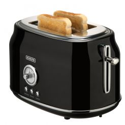 Retro Toaster Black