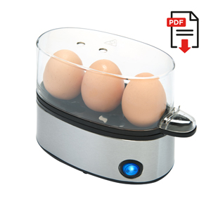 Compact Egg Cooker Deluxe